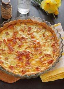 French pie - Quiche Lorraine